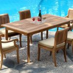 Rectangle Patio Dining Table And Chairs