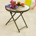 Round Patio Side Table