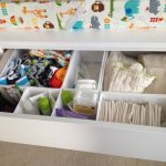 Simple Diaper Changing Table