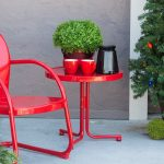 Small Patio Side Table Color