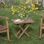 Small Patio Side Table And Chair