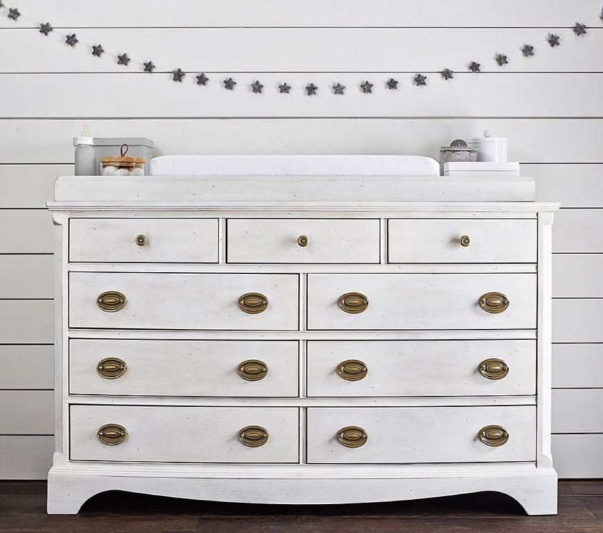 Image of: Stylish Changing Table Topper