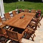 Teak Patio Table