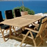 Teak Patio Table Images