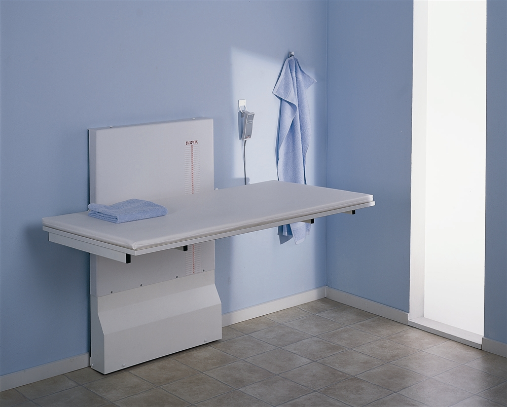 Image of: Wall Mounted Baby Changing Table Idea