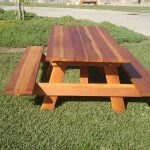 Wooden Commercial Picnic Tables Style