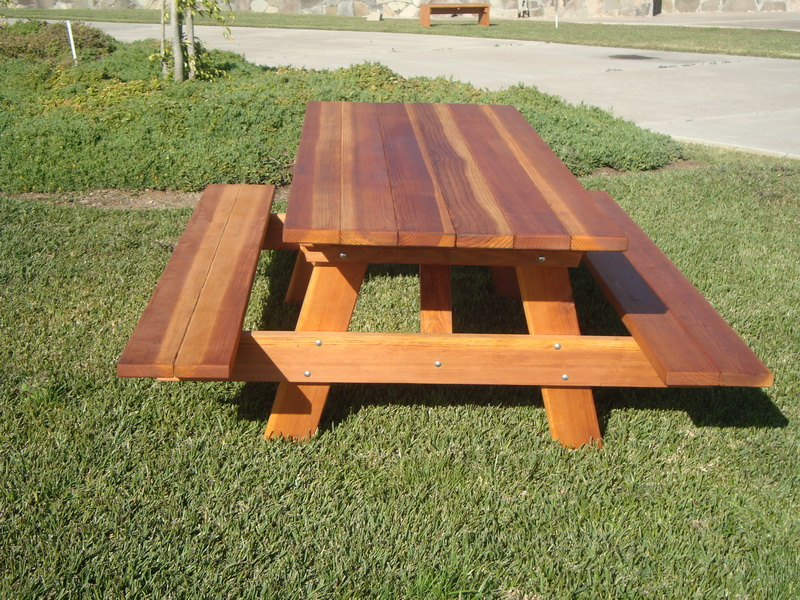 Picture of: Wooden Commercial Picnic Tables Style