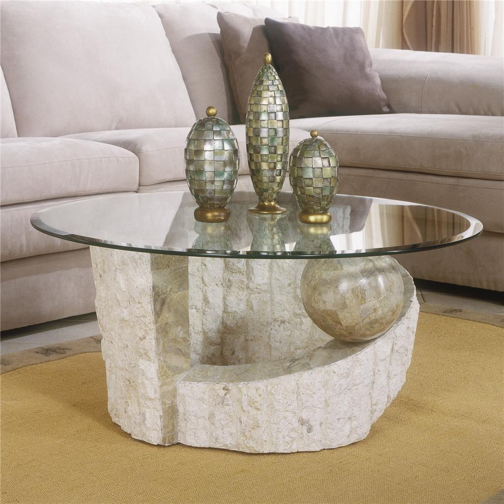 Picture of: Concept Modern Glass Coffee Table