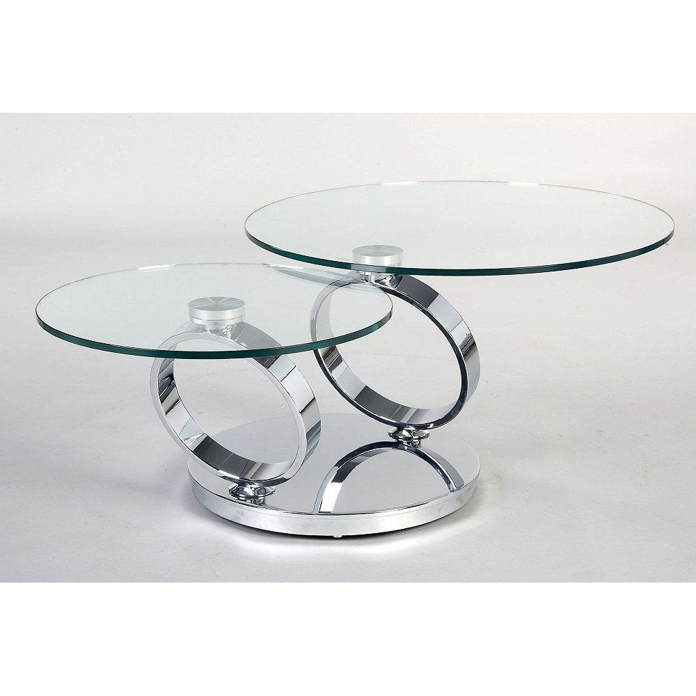 Image of: Creating Modern Glass Coffee Table