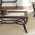Glass And Metal End Tables With Glass Top