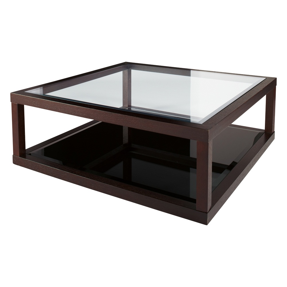 Picture of: Large Modern Glass Coffee Table