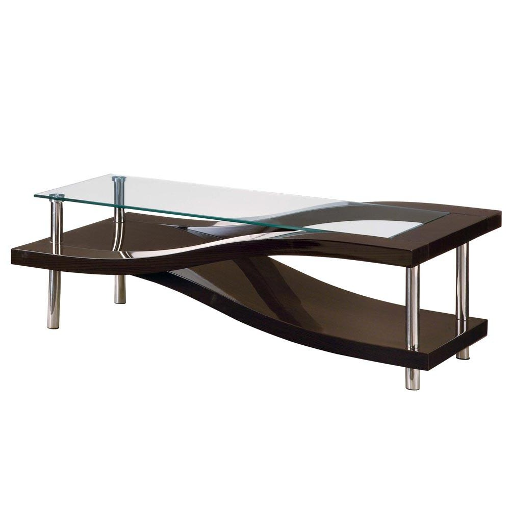 Picture of: Style Modern Glass Coffee Table
