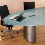Wonderful Oval Glass Conference Tables