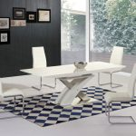 Wood And Glass Rectangular Dining Table
