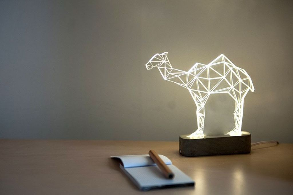 Image of: animal unique table lamps