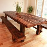 Awesome Salvaged Wood Dining Table