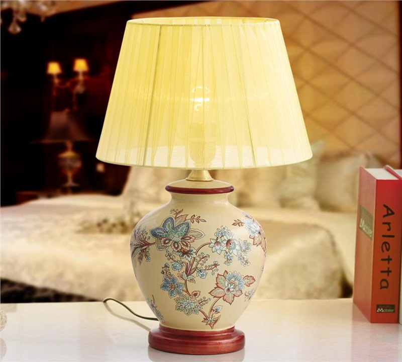 Image of: best ceramic table lamps