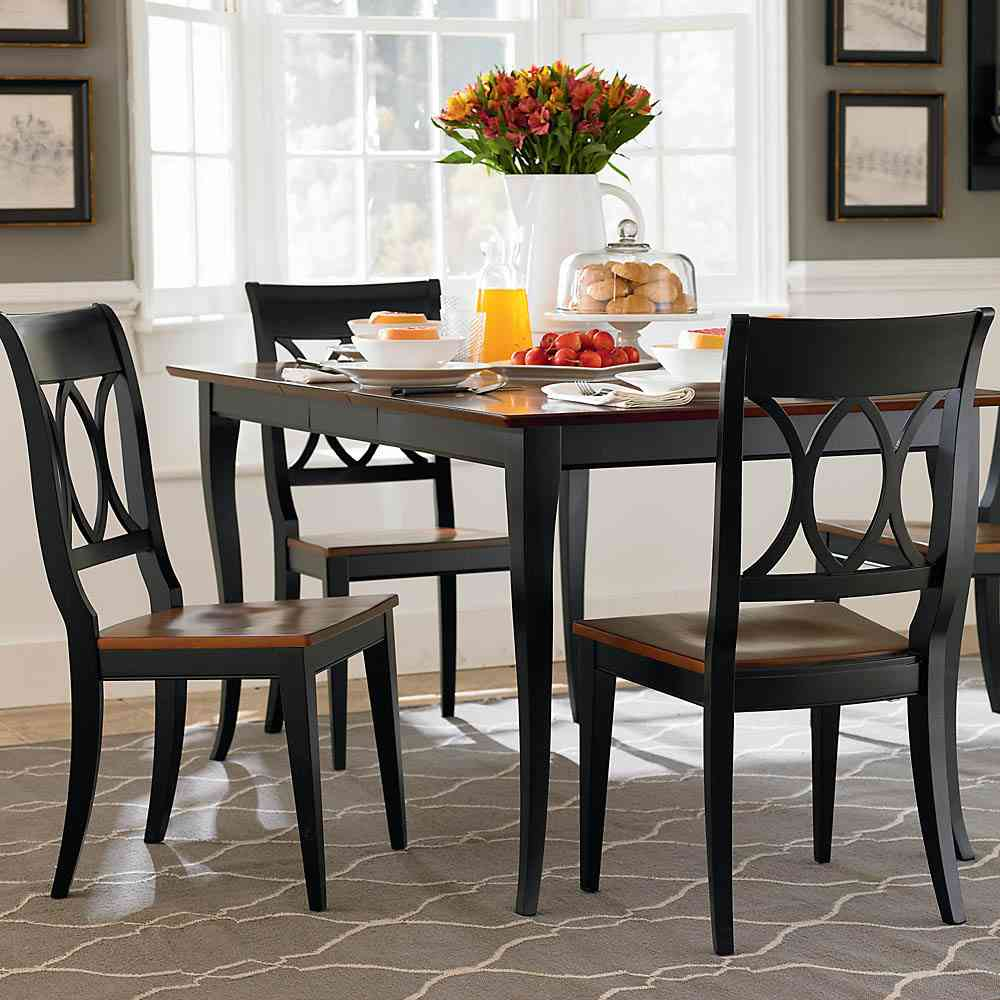 Picture of: black small dining room table sets