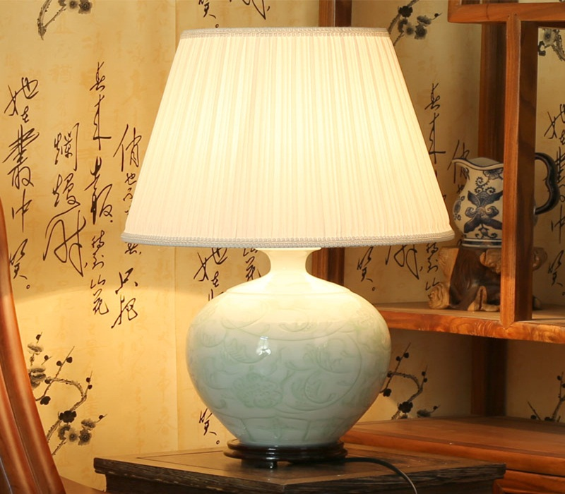 Image of: ceramic table lamps picture