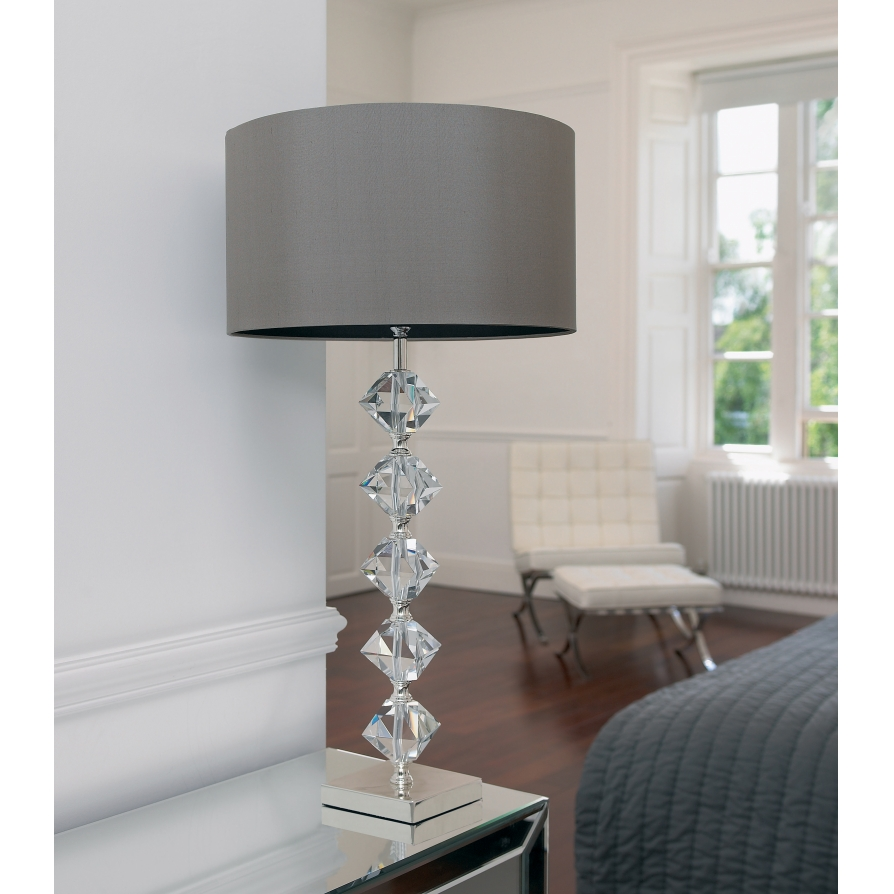 Picture of: Designer Crystal Table Lamps