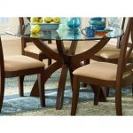 Glass 48 Inch Round Dining Table