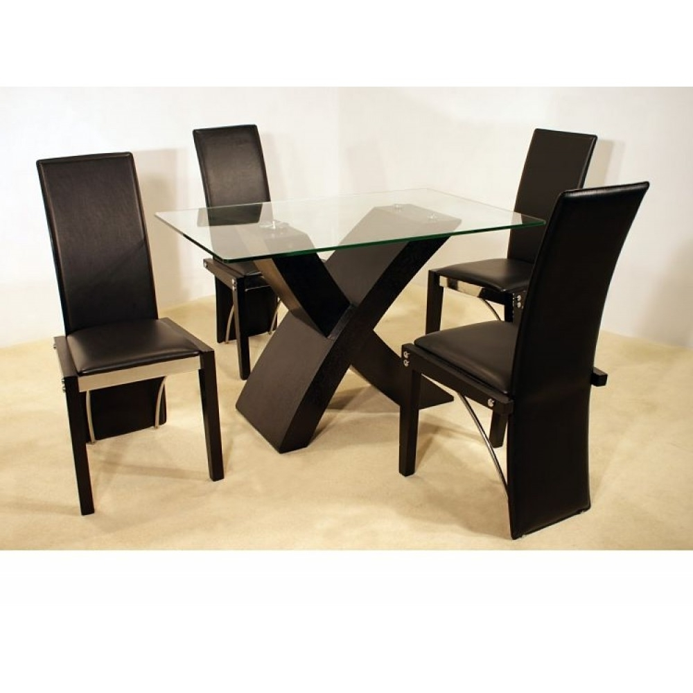 Picture of: glass small dining room table sets