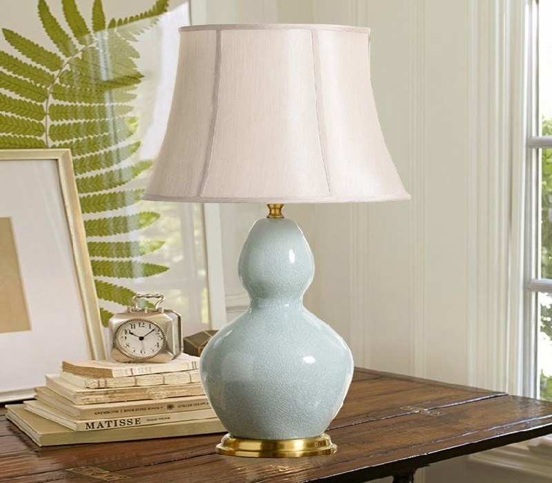 Image of: good ceramic table lamps