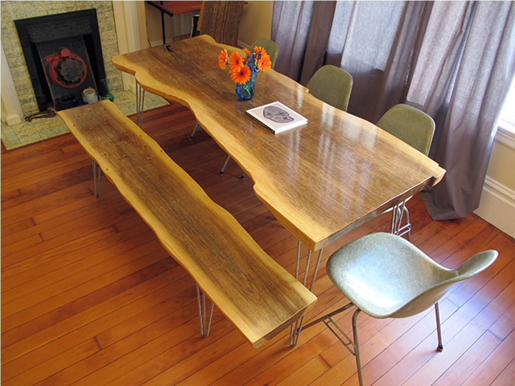 Picture of: log wood slab table tops