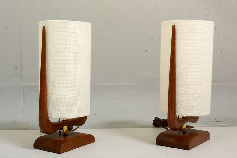 Picture of: mid century table lamp ceramic vase teal