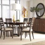 Modern Reclaimed Wood Round Dining Table