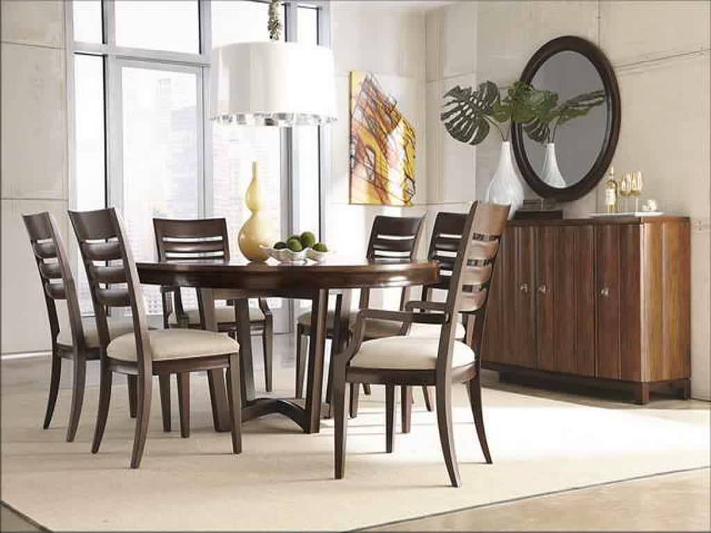 Picture of: modern reclaimed wood round dining table