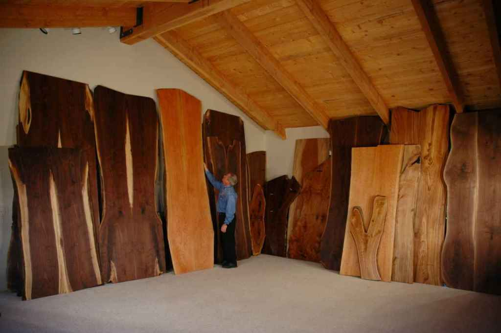 Natural Wood Slab Table Tops