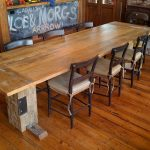 Perfect Salvaged Wood Dining Table