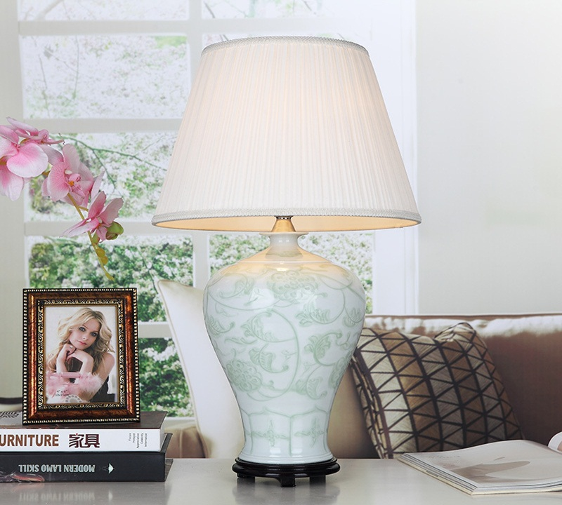 Image of: popular ceramic table lamps