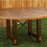 Reclaimed Wood Round Dining Table Ideas