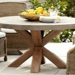 Reclaimed Wood Round Dining Table Outdoor