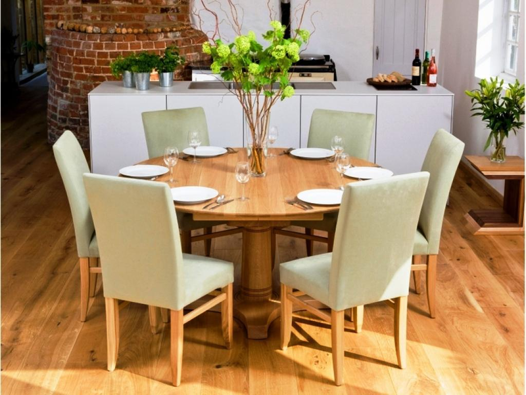 Reclaimed Wood Round Dining Table Sets
