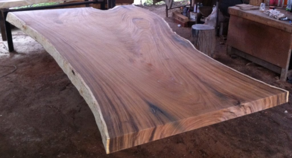 Picture of: reclaimed wood slab table tops