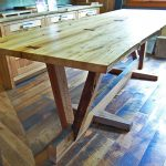 Salvaged Wood Dining Table Design