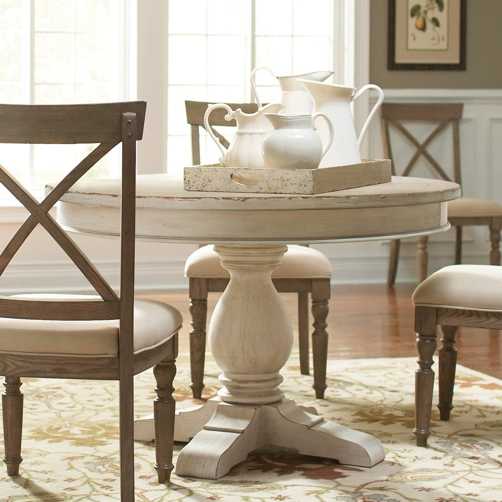Image of: style 42 round dining table