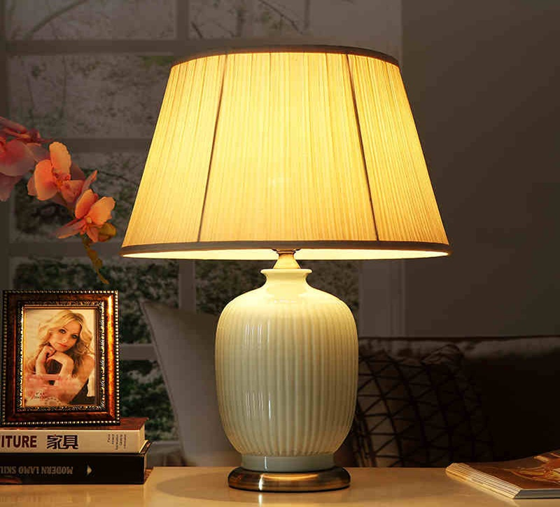 Image of: top ceramic table lamps
