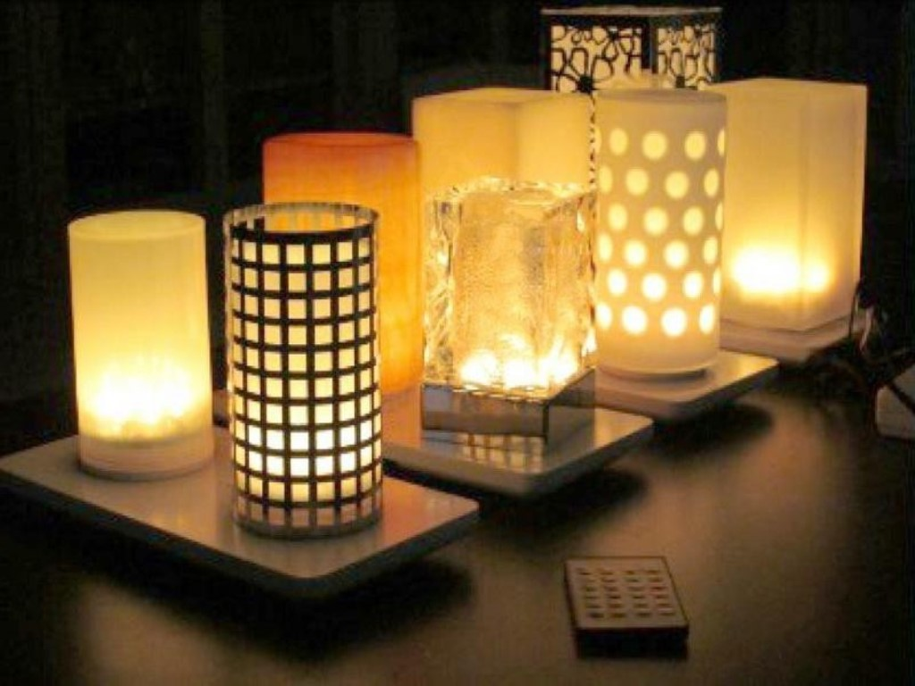 Image of: unique table lamps designs