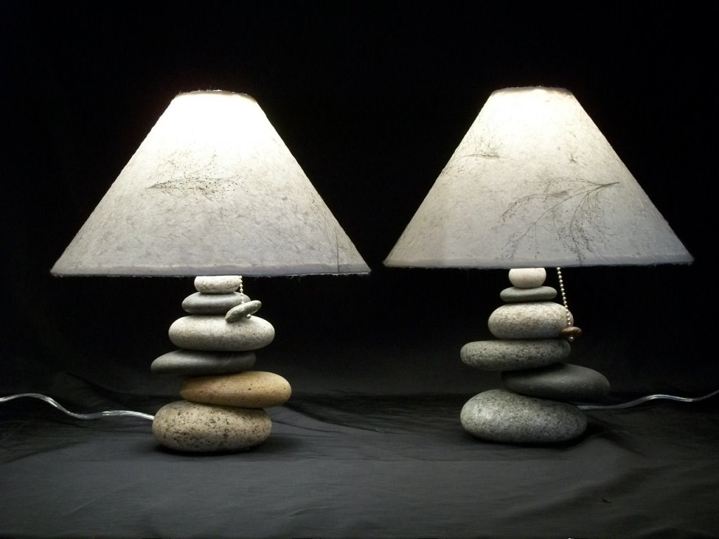 Image of: unique table lamps living room