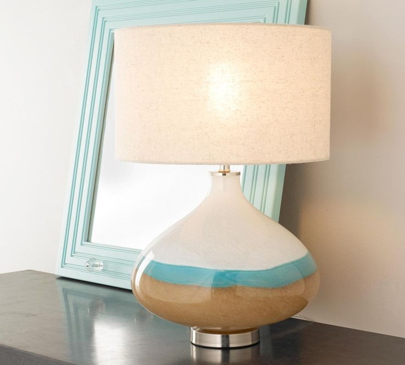 Image of: wonderful ceramic table lamps