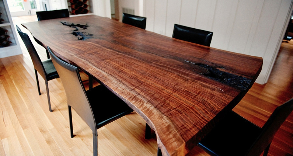Picture of: wood slab table tops ideas
