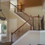 Wrought Iron Stair Railing Picture