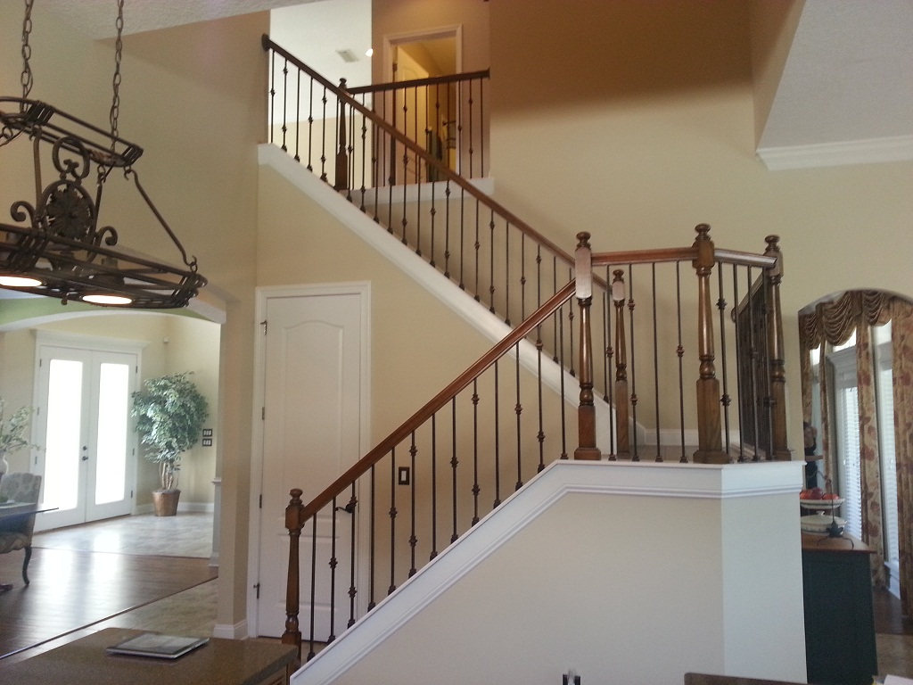Picture of: Wrought Iron Stair Railing Picture