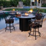 Propane Gas Fire Pits Patio Firepit Dining Table Fire