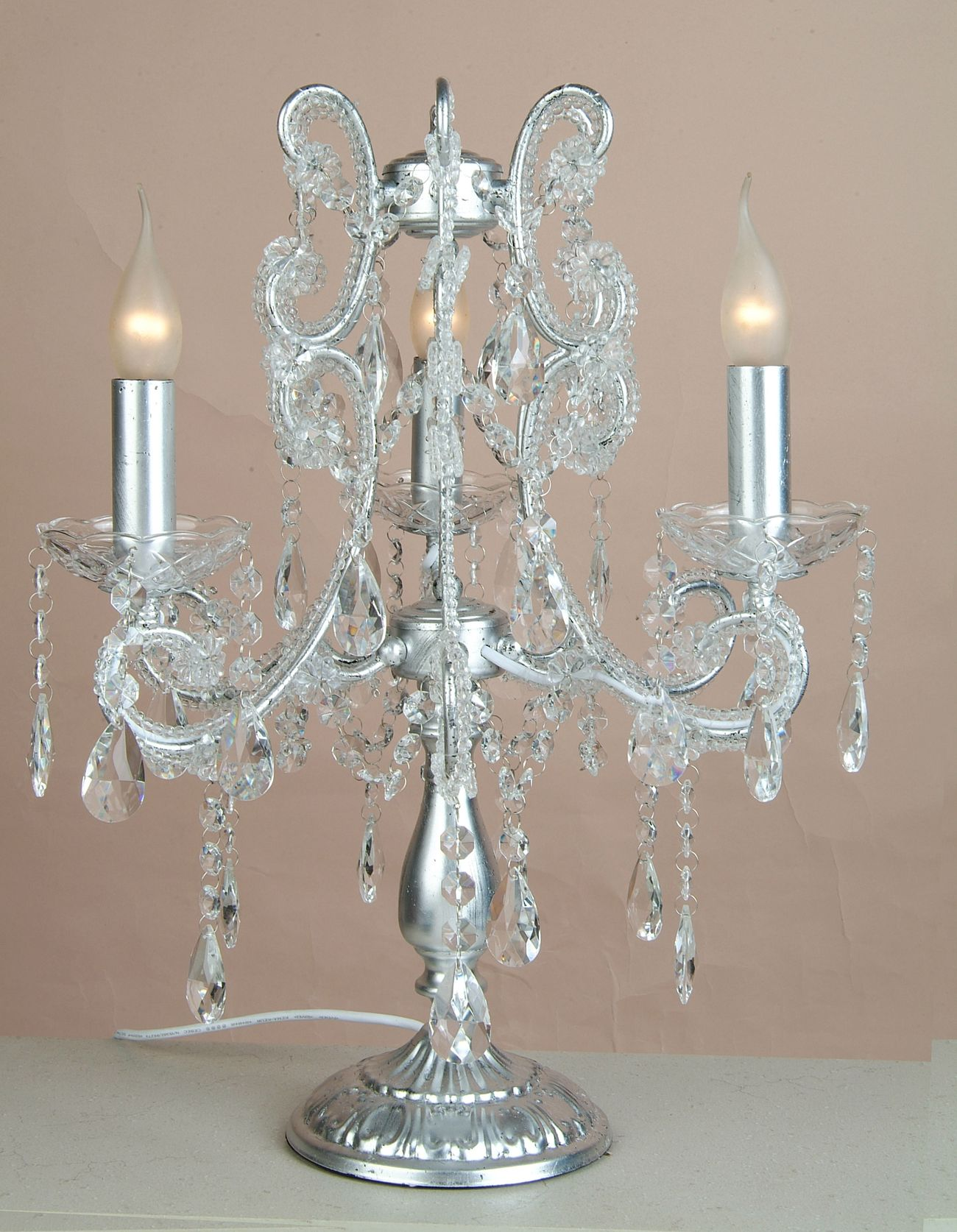 Image of: Modern Chandelier Table Lamp
