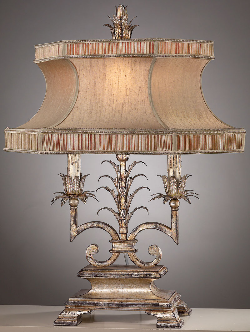 Picture of: Chandelier Table Lamp Option